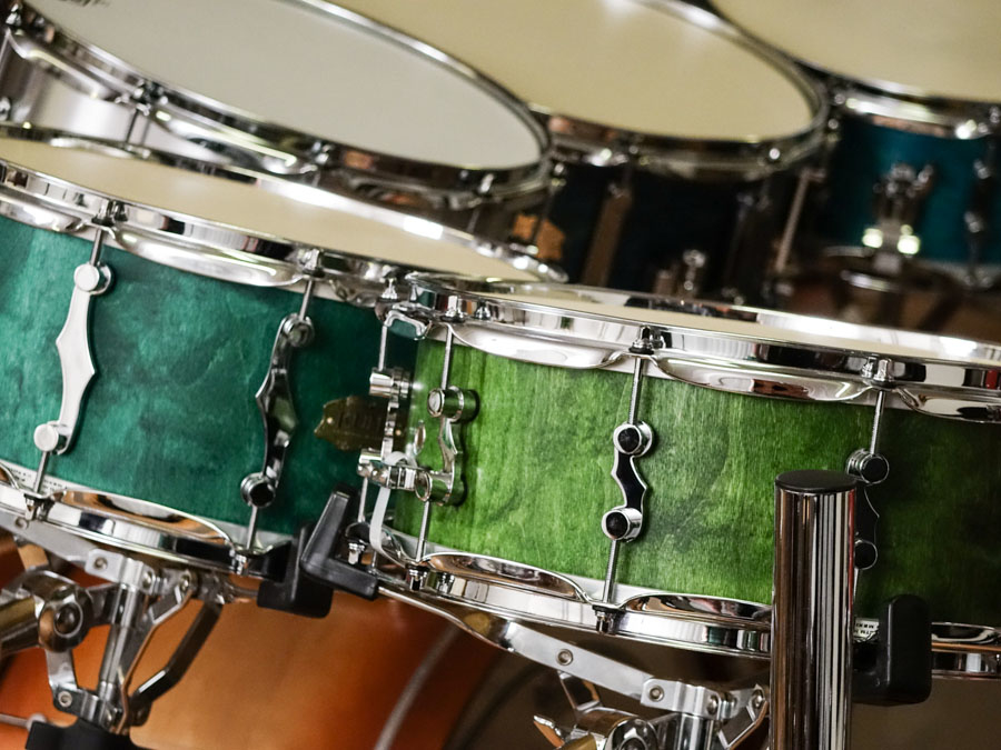 KUMU All Birch Custom snare drums