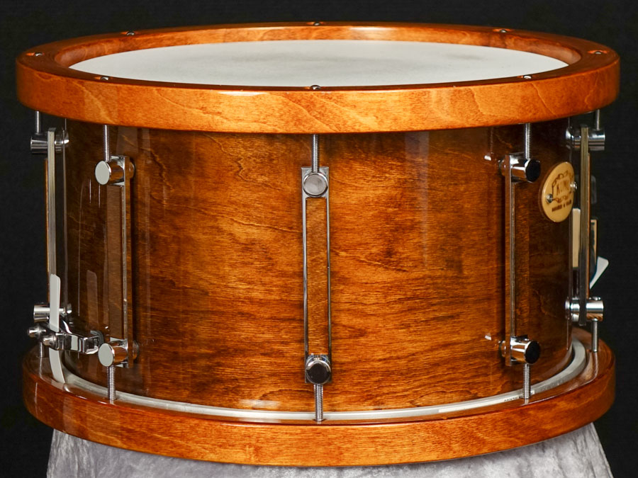 KUMU All Birch Custom snare drums – GlossTone & SuperWoodHoops