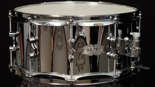 "KUMU Chrome Over Brass snare drum 14"" x 6,5"""