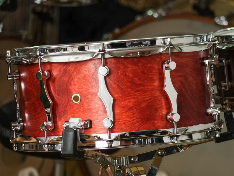 KUMU All Birch Custom snare – SatinSound finish
