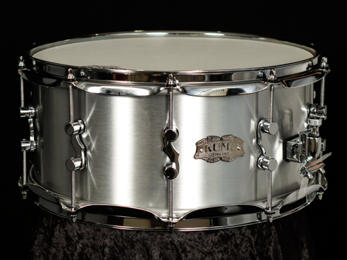 Brushed Aluminum snare drums