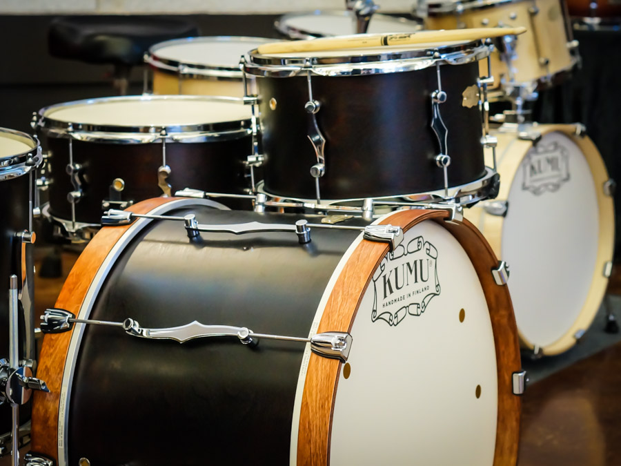 KUMU VintageFlat drum set
