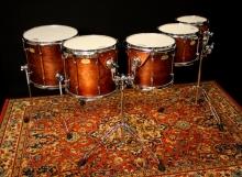 505 - Sibelius Academy Custom tom-tom set